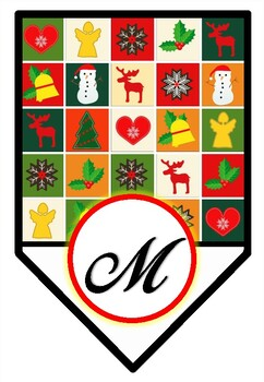 'Merry Christmas' Pennant Banner, Bulletin Board Letters