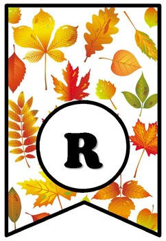 'Reading Leaves You Happy', Fall Bulletin Board Sayings Pennant Banner, Library