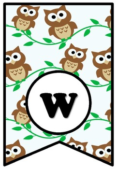Whooo's Ready For Fall? Fall Bulletin Board Pennant Sayings Banner, Class Decor