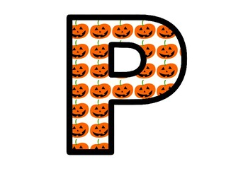 Halloween Jack O Lanterns, Pumpkins, Bulletin Board Letters, Classroom Decor