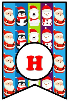 Happy Holidays, Bulletin Board Sayings Pennant Letters, December Decor Christmas