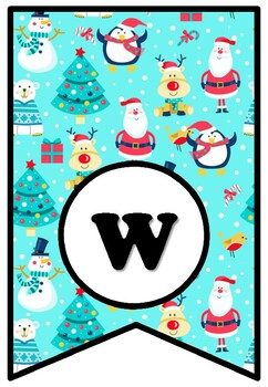 We Wish You A Merry Christmas, Bulletin Board Sayings Pennant Letters, Decor
