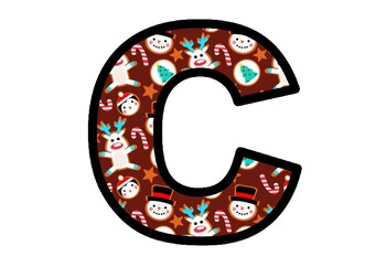 Christmas Cookies, Bulletin Board Letters, Alphabet Posters Decor
