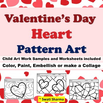 Valentine's Day, Heart Pattern Art, Pop Art