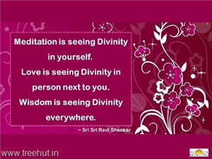 Quote on Divinity, by Sri Sri Ravi Shankar