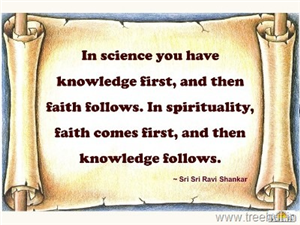 Quote on Spirituality by Sri Sri Ravi Shankar