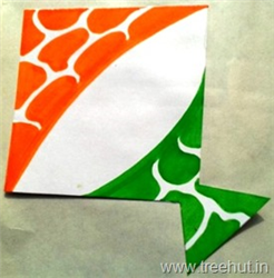 Indian Tri-Colour Kite badge