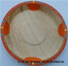 Eco Friendly Handpainted Platters