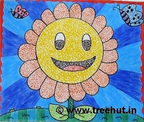 Dot Art Ideas by children