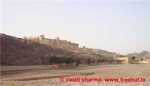 Glorious Amer Fort at Jaipur, India