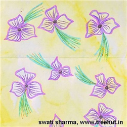 Handpainted Floral Backgrounds