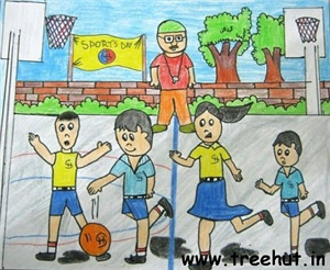 Sports and Games Child Art