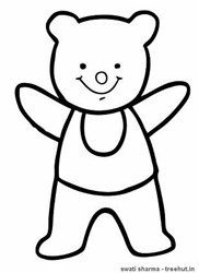 Teddy Coloring Pages