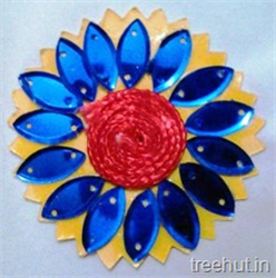 Flower Rakhi Craft Ideas for Kids