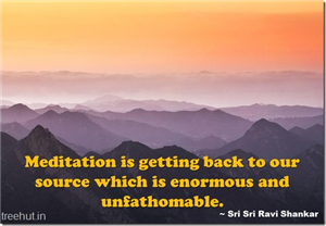 Meditation Quote Wallpapers by Sri Sri Ravi Shankar