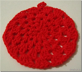Christmas Ornament Bunting Crochet Free Pattern