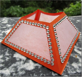 Diwali Craft Pyramid Paper Lantern Template