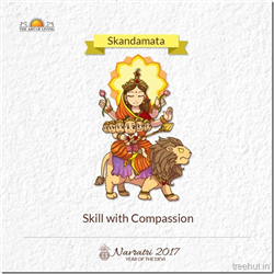 Skandamata, Fifth Form of Nav Durga , Navratri, The Art of Living