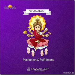 Siddhidhatri, Ninth Form of Nav Durga , Navratri, The Art of Living