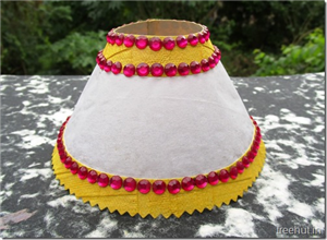 Diwali Christmas Craft Paper Lantern Tea Light Holder